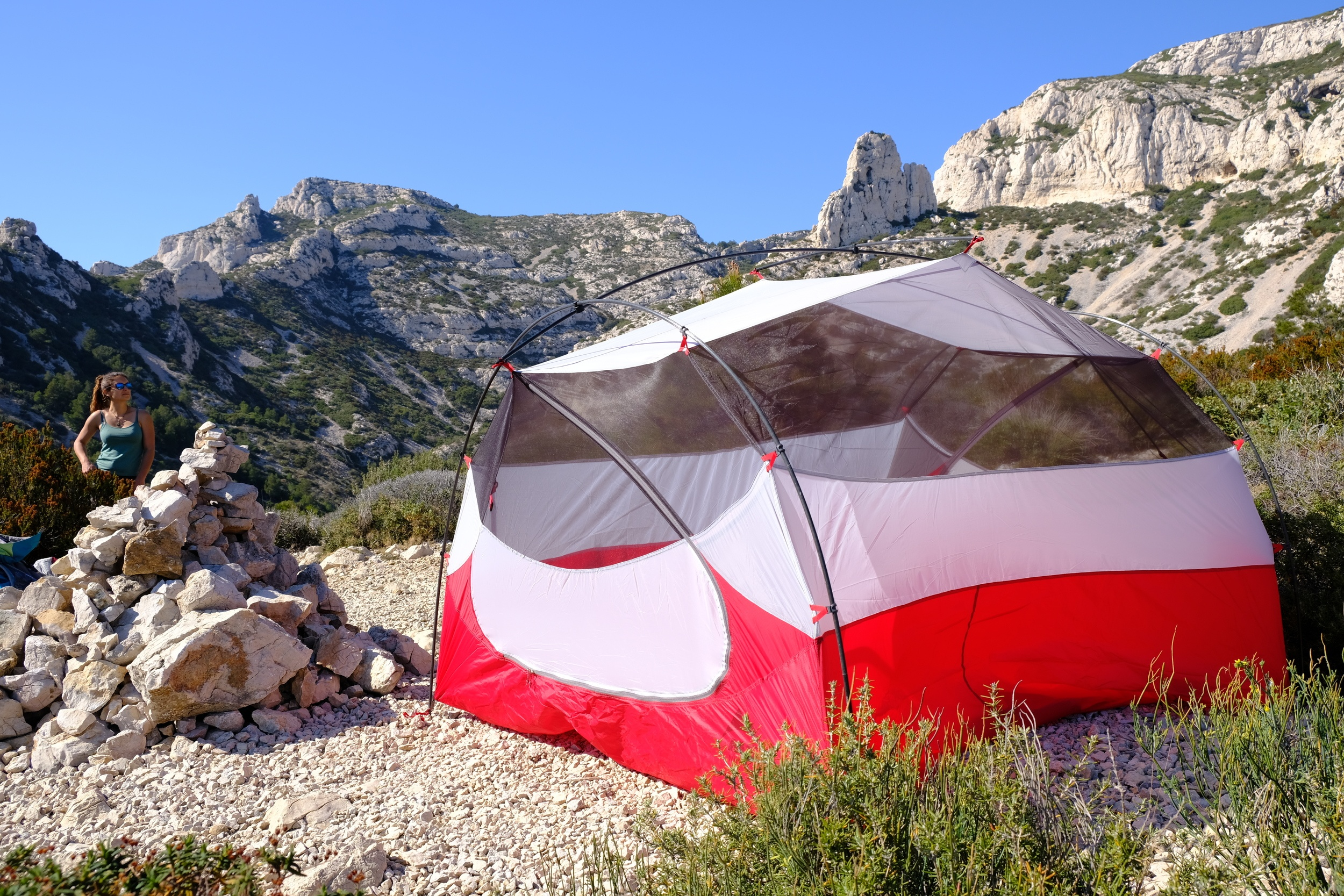 MSR Mutha Hubba is one of ther best tents for camping