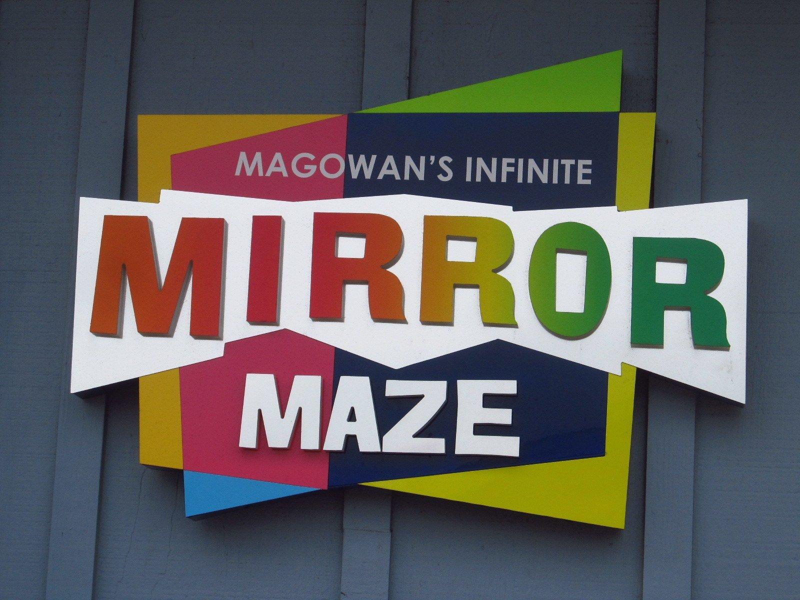 Magowan's Infinite Mirror Maze