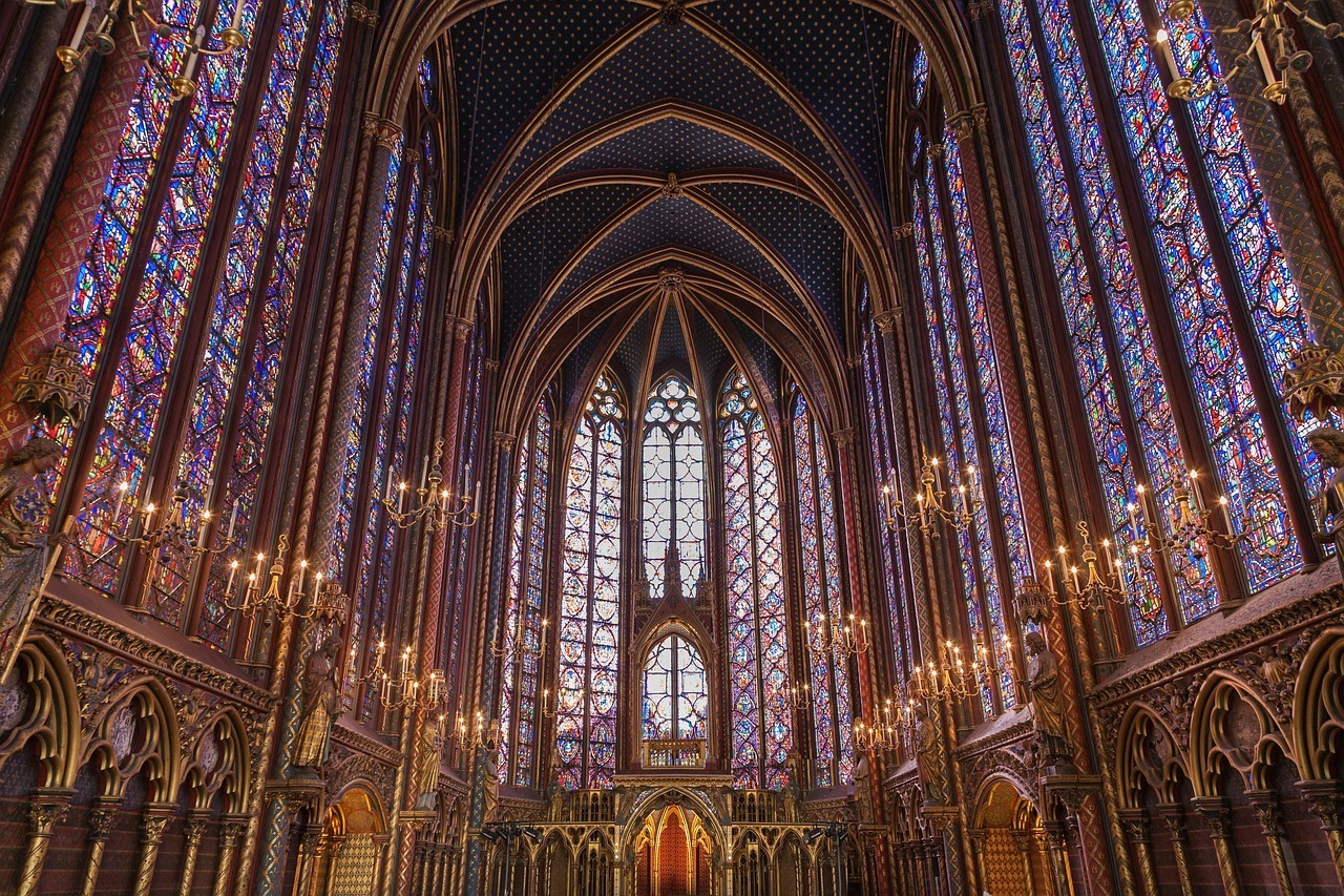 Sainte-Chapelle - great place to see in Paris