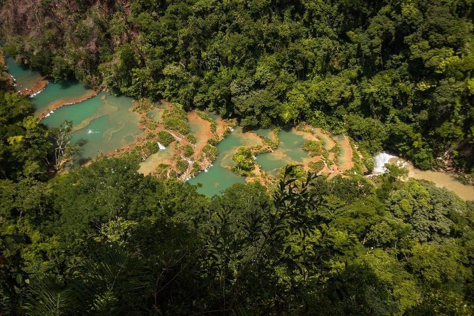 Семук Чампей, Гватемала