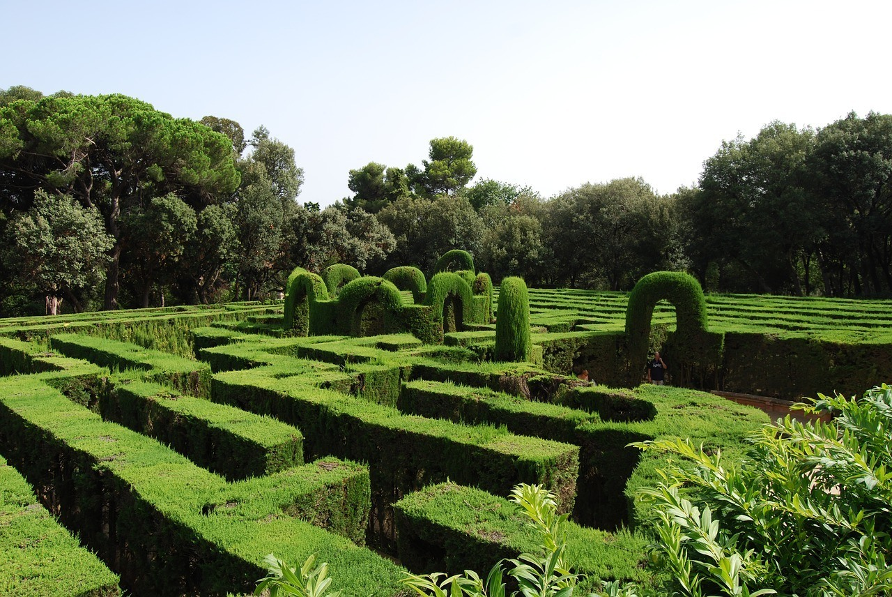 The Labyrinth Park of Horta in barcelona