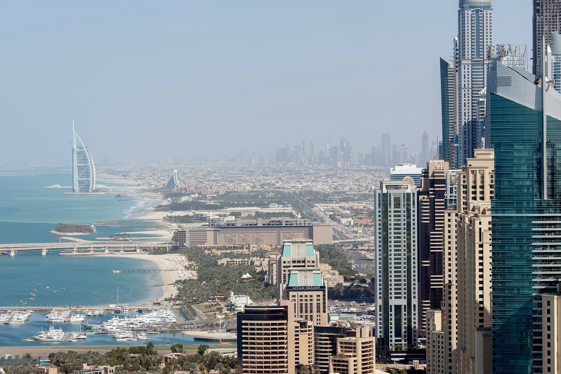 Dubai looking safe and mighty nice to live in