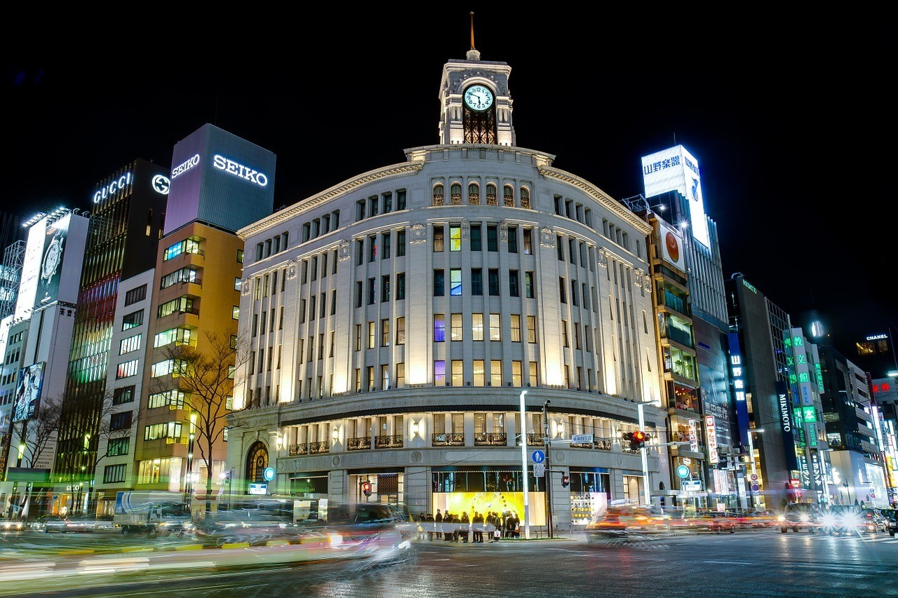 Ginza - Best Place to Stay in Tokyo for Big Spenders