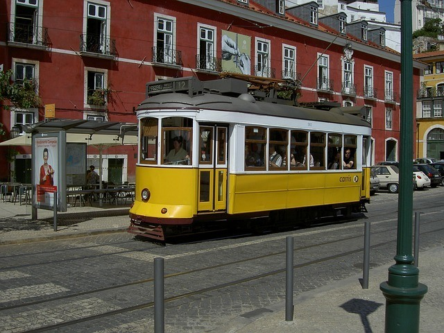 Is public transportation in Portugal safe?