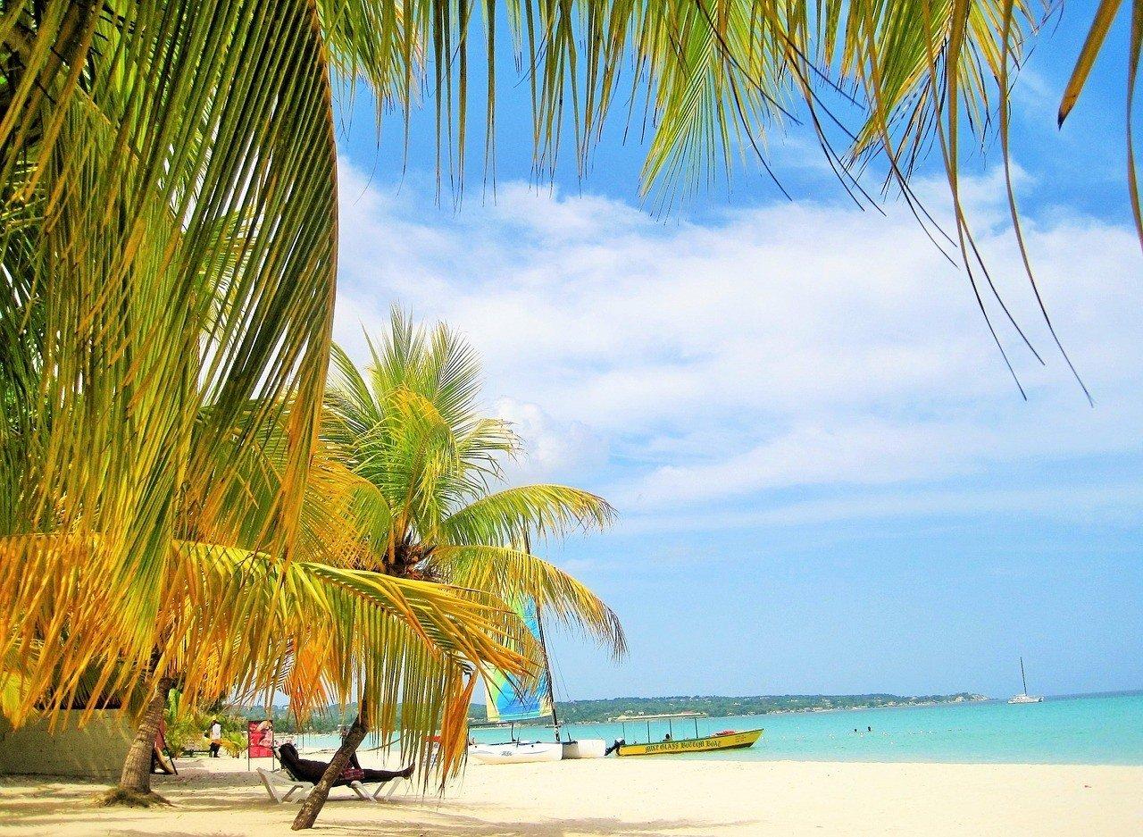 A safe beach in Jamaica