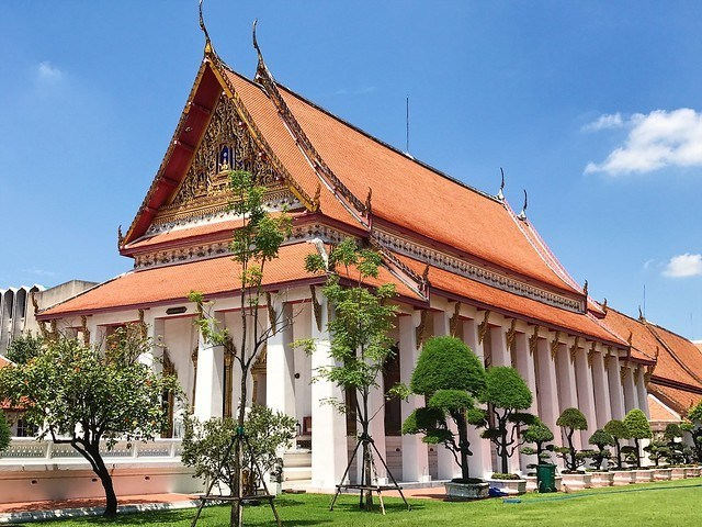 the Bangkok National Museum