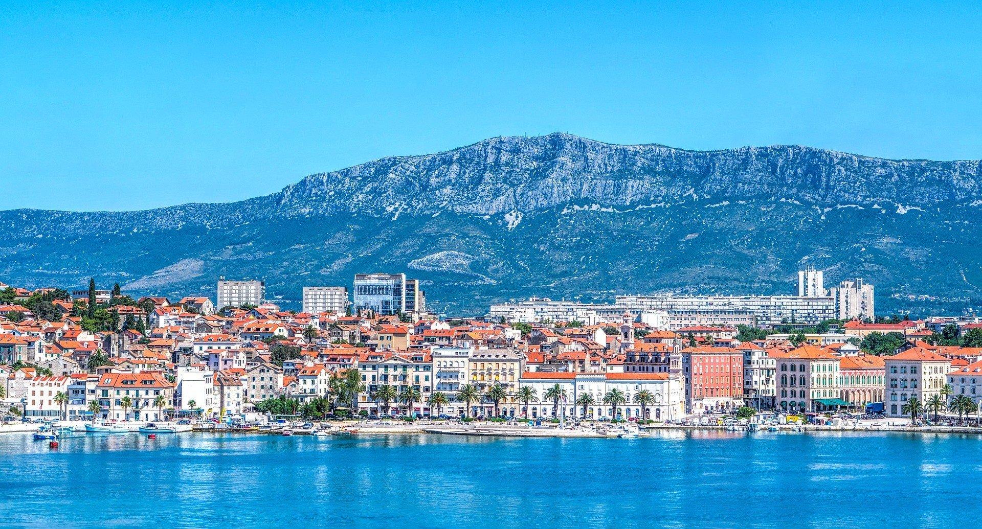 Croatia Split Mountains