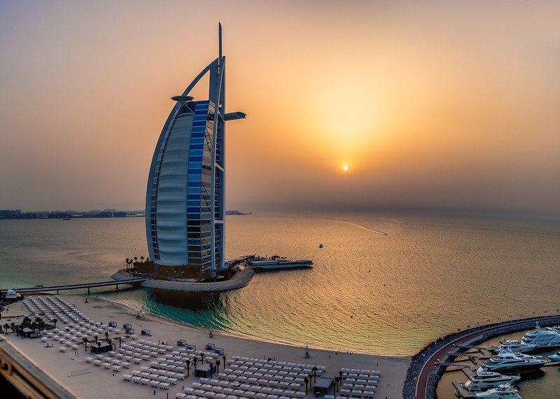 Burj Al Arab and Kite Beach