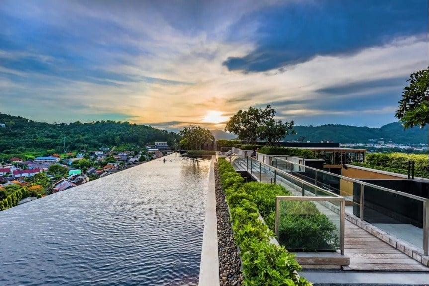 Luxury Room & Rooftop Pool with Phuket City Views, Phuket