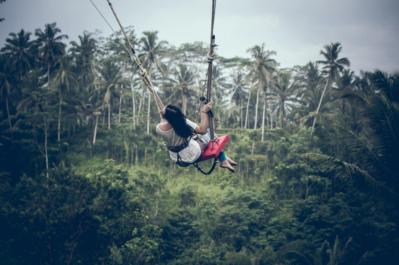 Bali swing in Bali