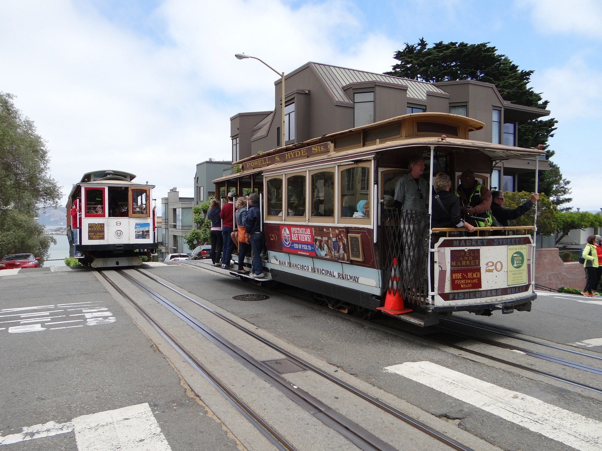 Catch the San Francisco Cable Car