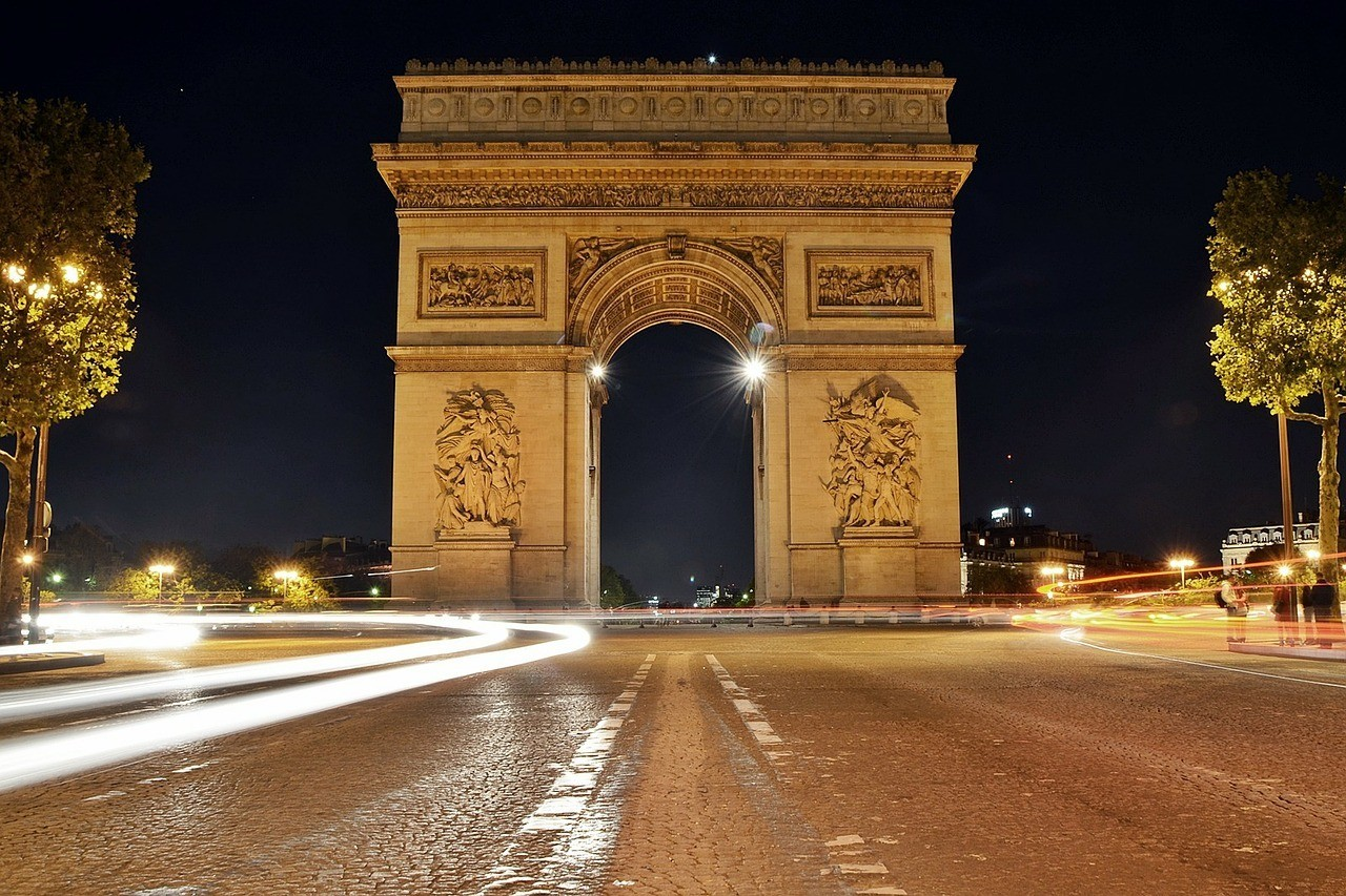 Champs-Elysees to the Arc de Triomphe