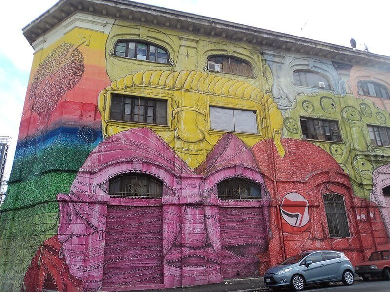 Ostiense Street Art Walking Tour