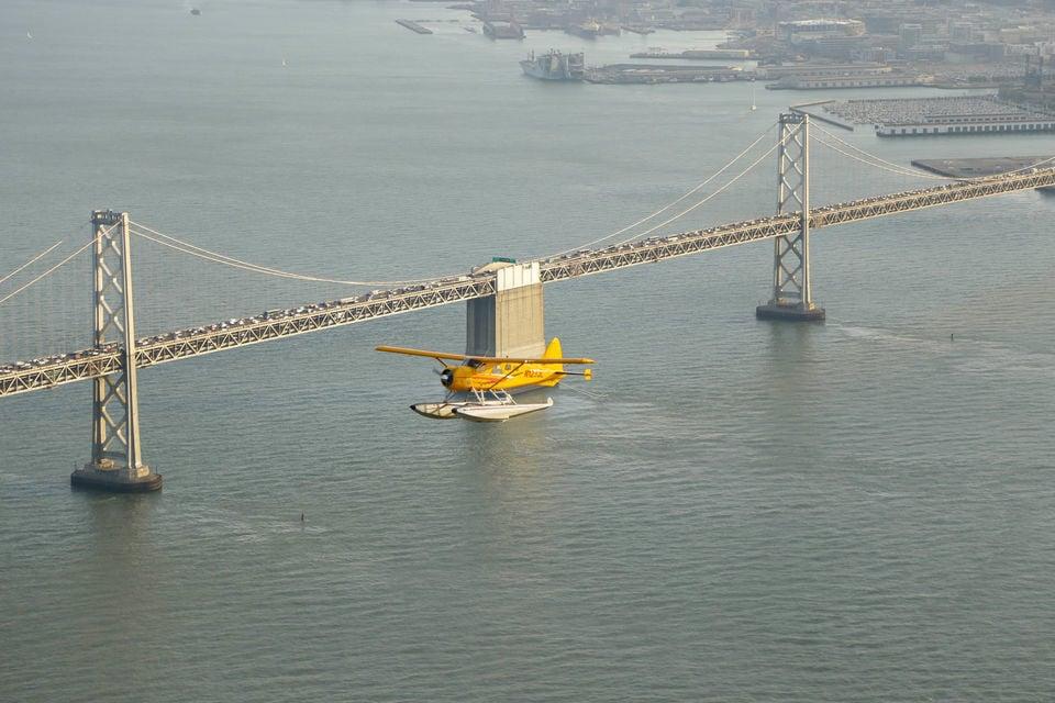 Golden Gate Bridge from the Air Seaplane Tour