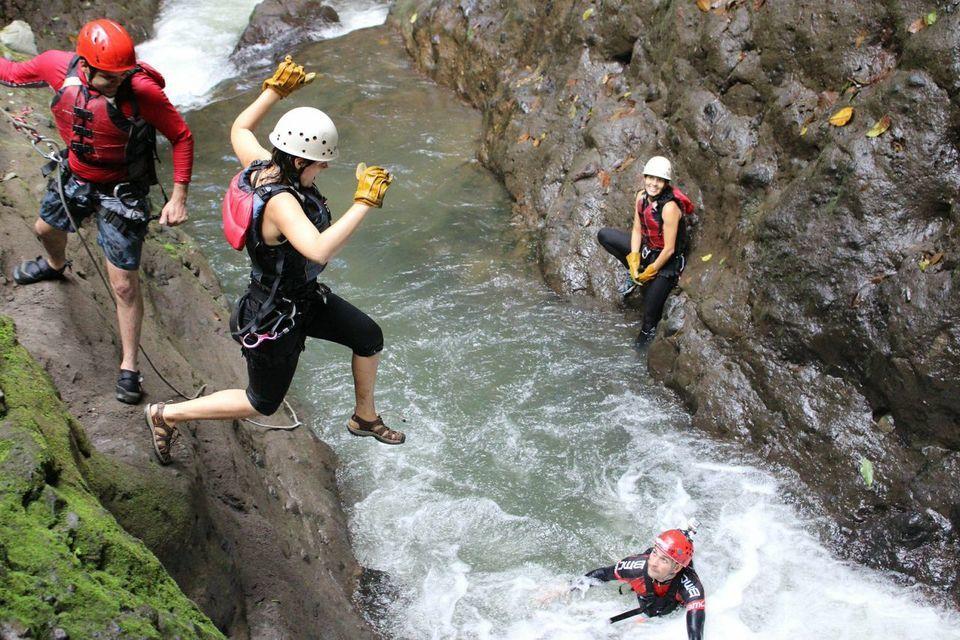 Gravity Falls: Waterfall Jumping and Extreme Canyoning