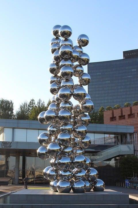 Leeum Samsung Museum of Art in Itaewon neighborhood, Seoul