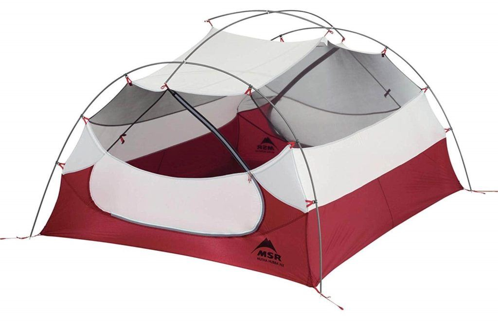 MSR Mutha Hubba backpacking tent