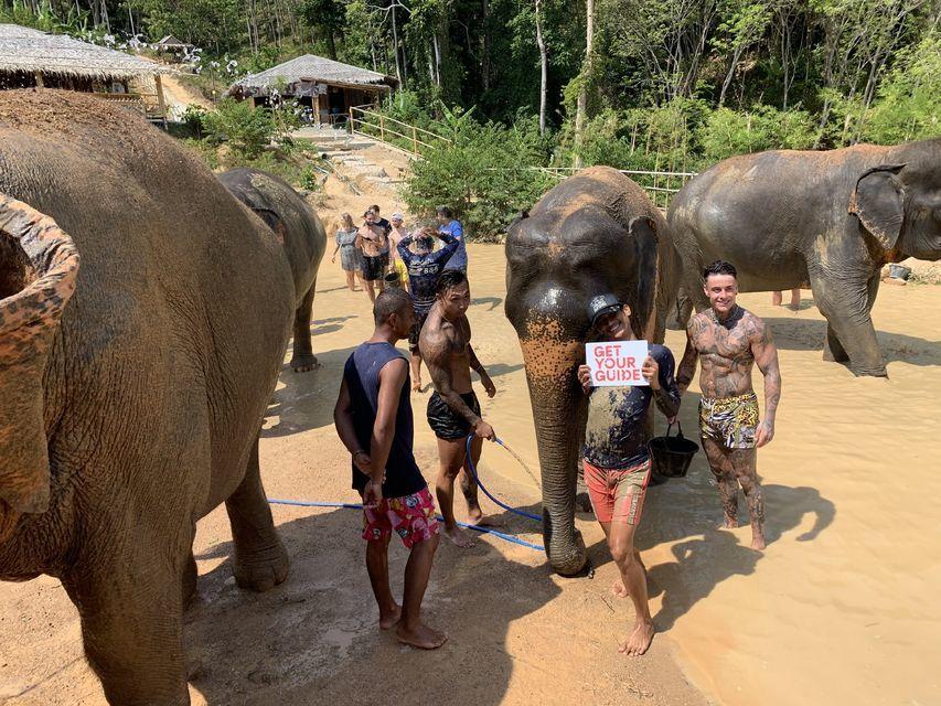 Phuket Half Day Ethical Elephant Jungle Sanctuary
