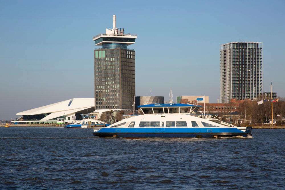 Take a Ferry to Amsterdam North