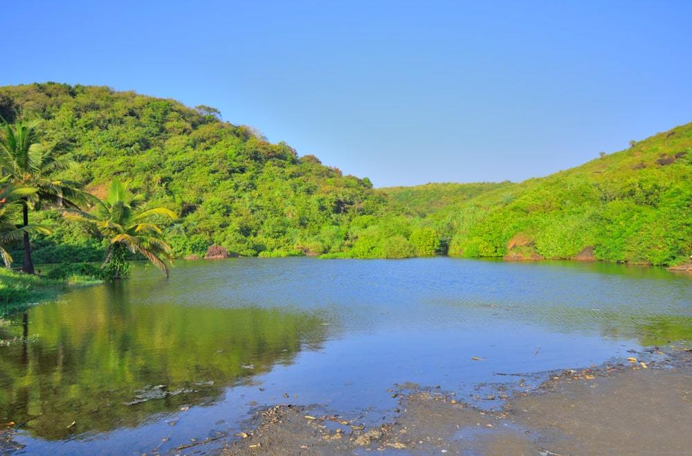 Sweet Water Lake in Arambol