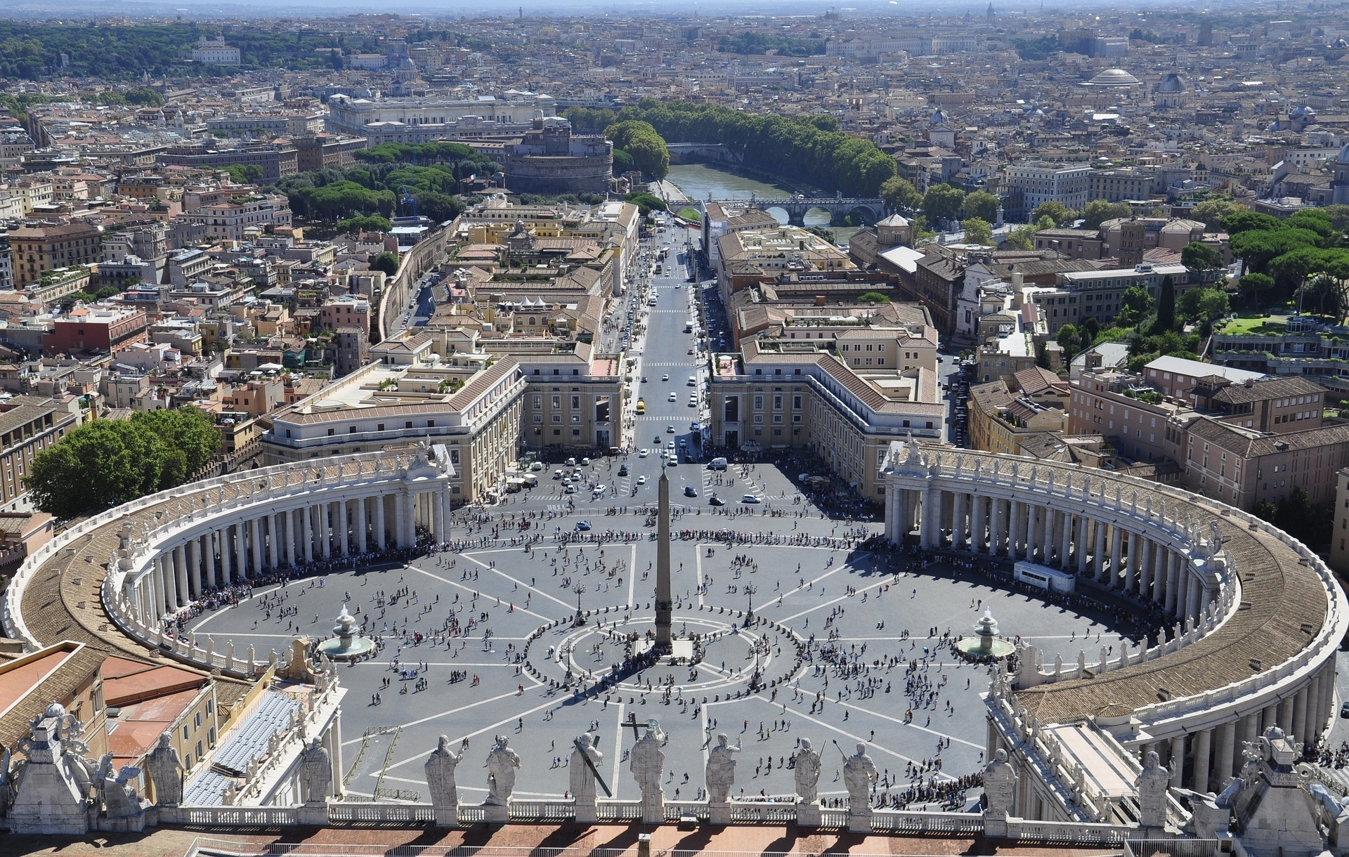 St Peter's Square, The Vatican