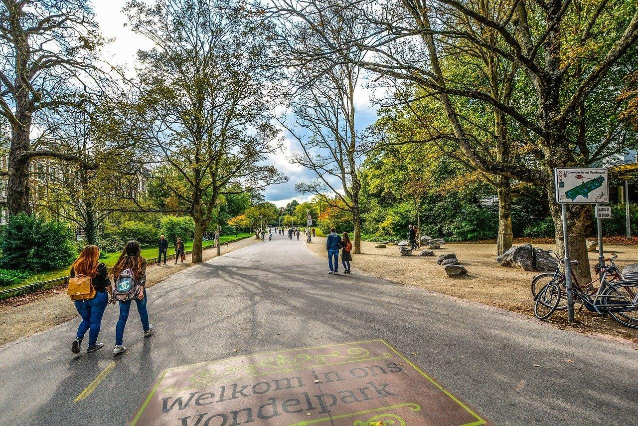 Stroll through a Park or Two