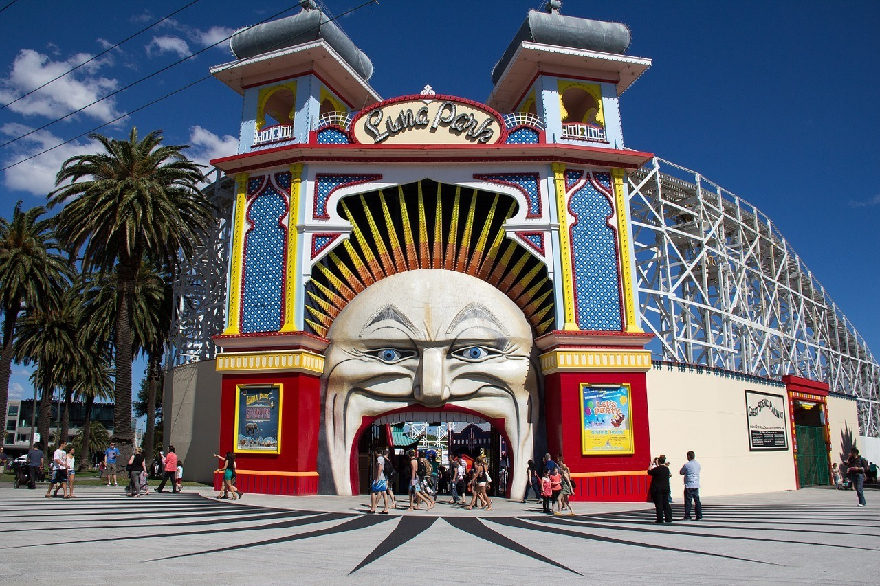 Take a Ride at The Luna Park
