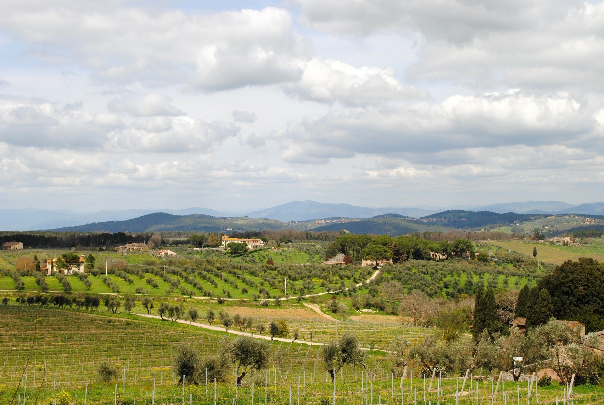 The Chianti Wine Route in Tuscany