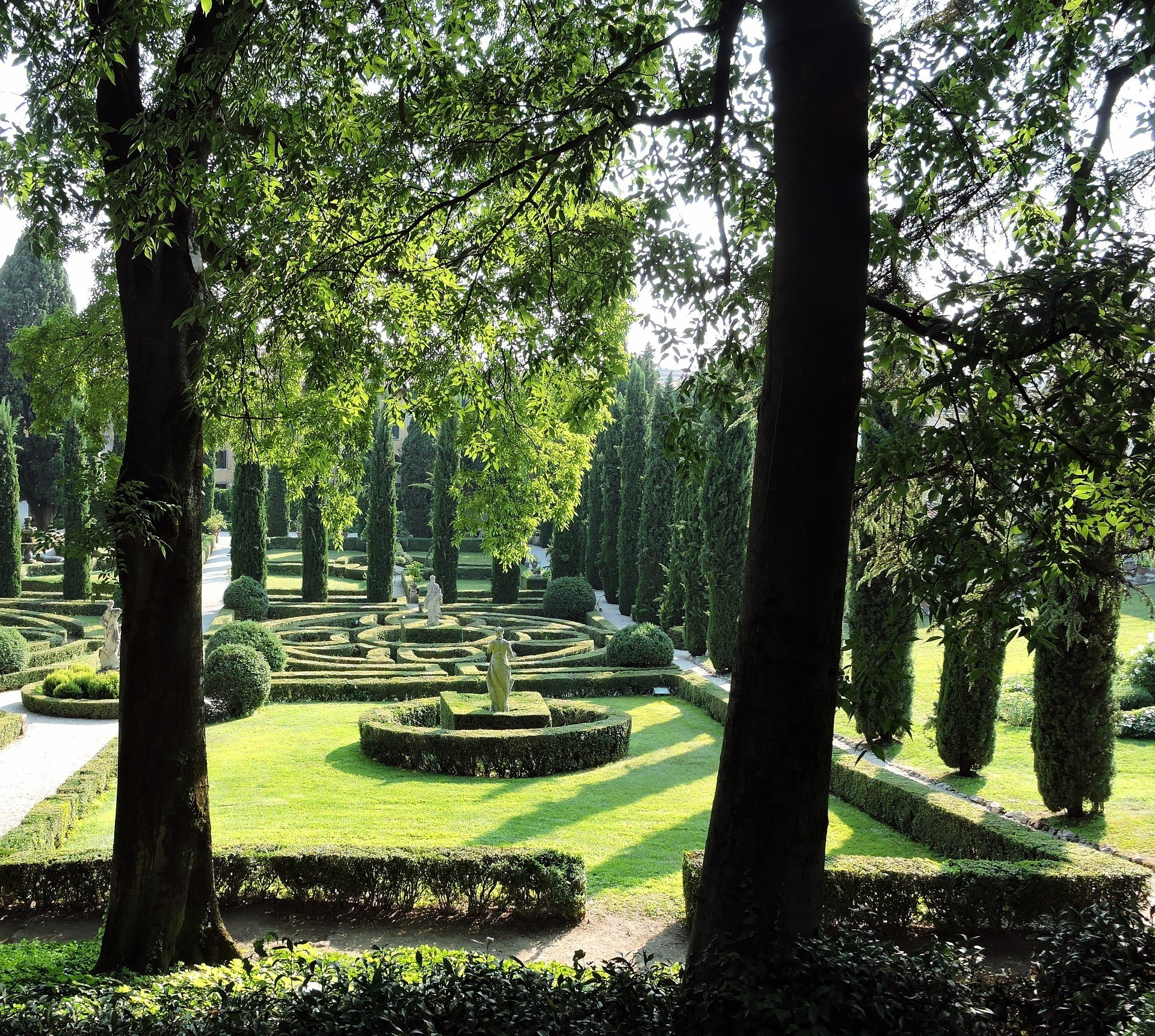 The Gardens Of Giardino Giusti in Verona