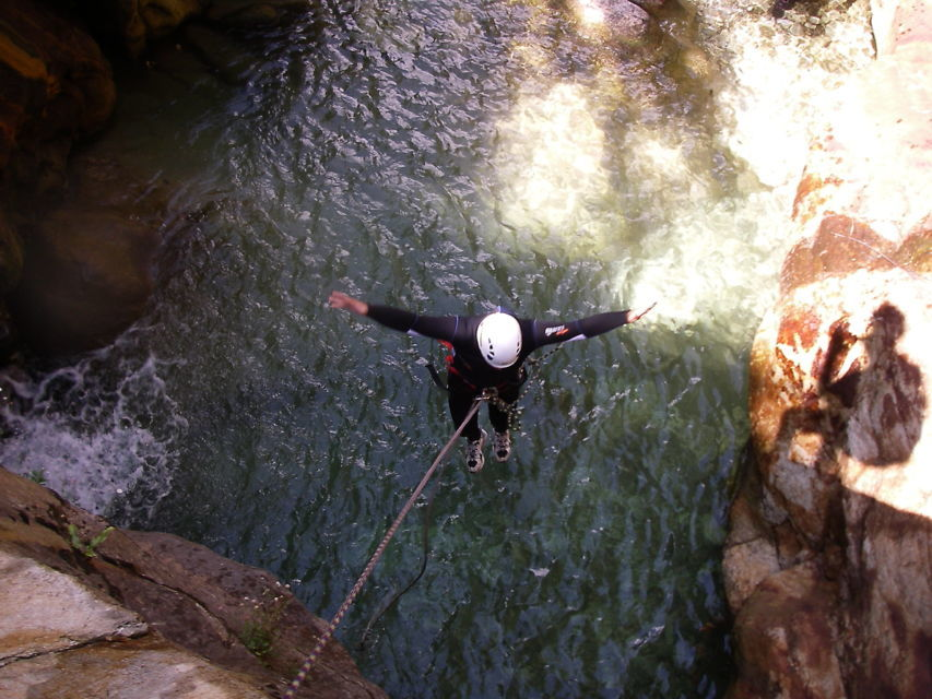 Tuscany Canyoning Adventure Day Trip
