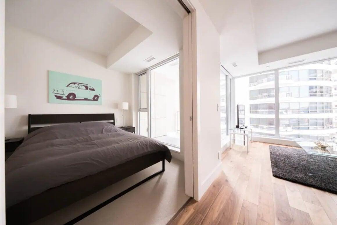 Urban condo with great views