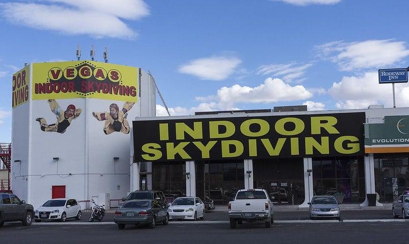 Vegas Indoor Skydiving 1