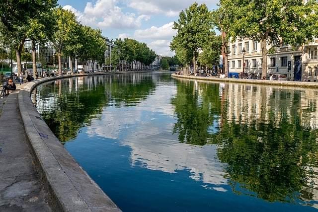Wander Down Canal Saint-Martin