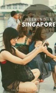 Weekend in Singapore PIN