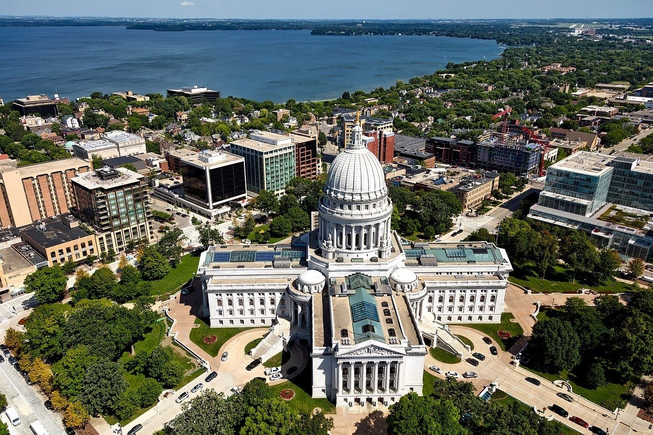 Madison, Wisconsin - a top city to visit inthe Untied States