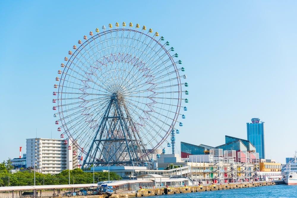 Tempozan Ferris Wheel - a must-do in Osaka