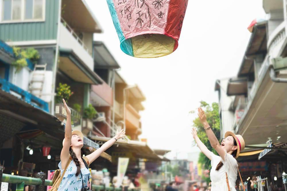 Pingxi Lantern Release - top thing to do in Taipei