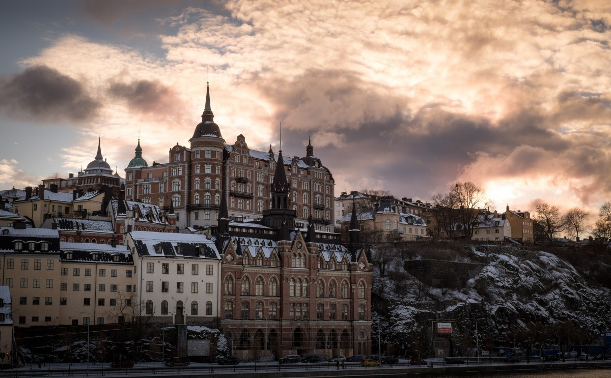 backpacking Stockholm