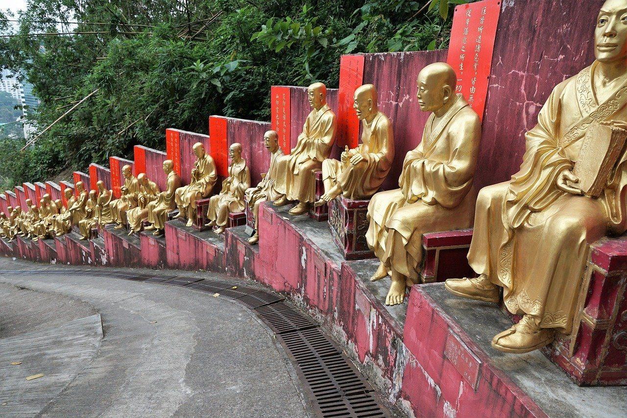 10, 000 Buddhas Monastery, Hong Kong