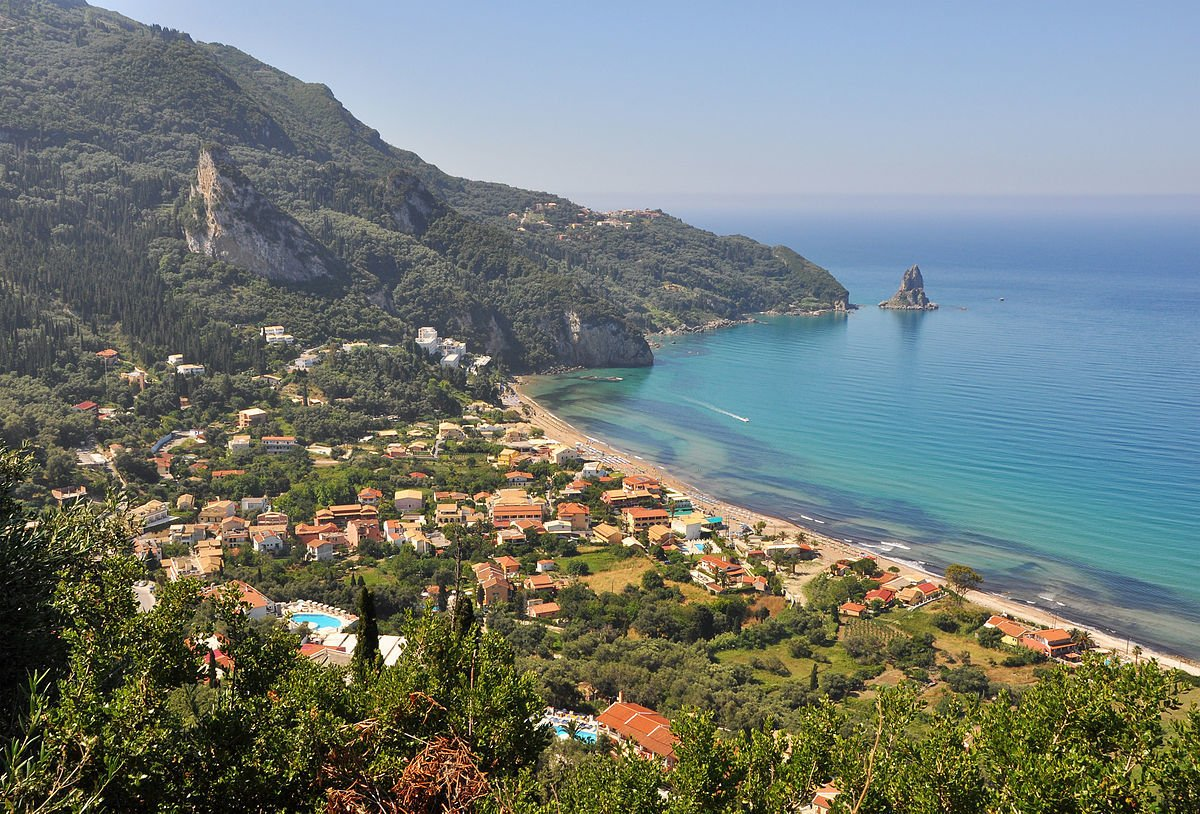Agios Gordios, Corfu - backpacking the Ionian Islands