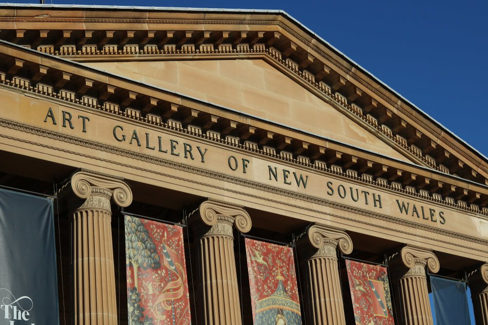 Art Gallery of New South Wales - a free thing to do in Sydney