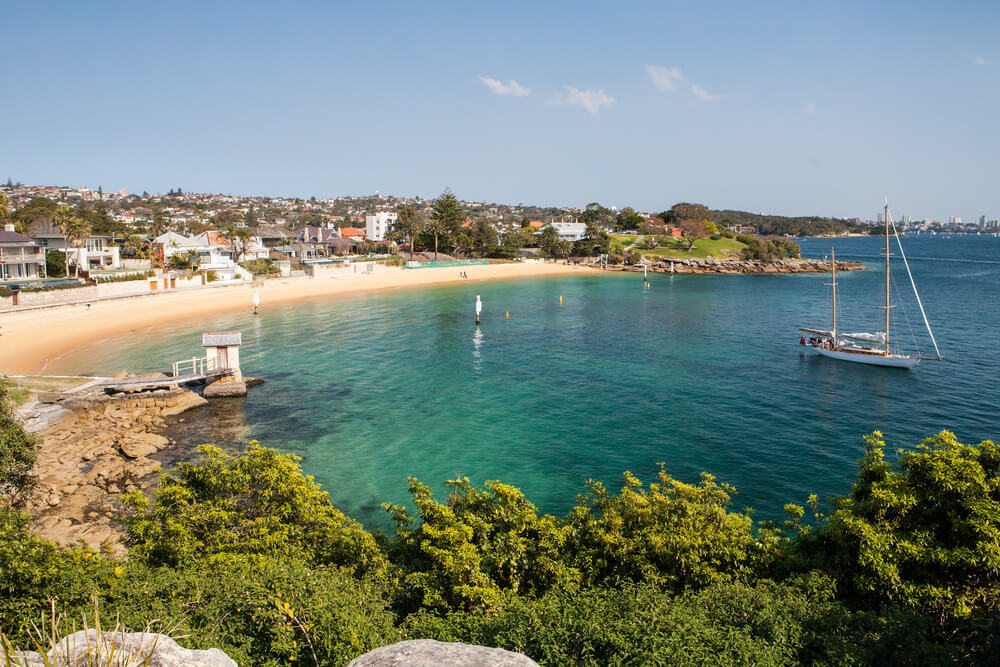 Camp Cove - A Sydney place to visit away from tourists
