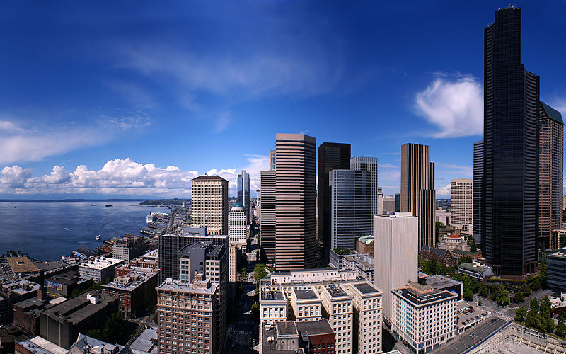 City Views from Smith Tower