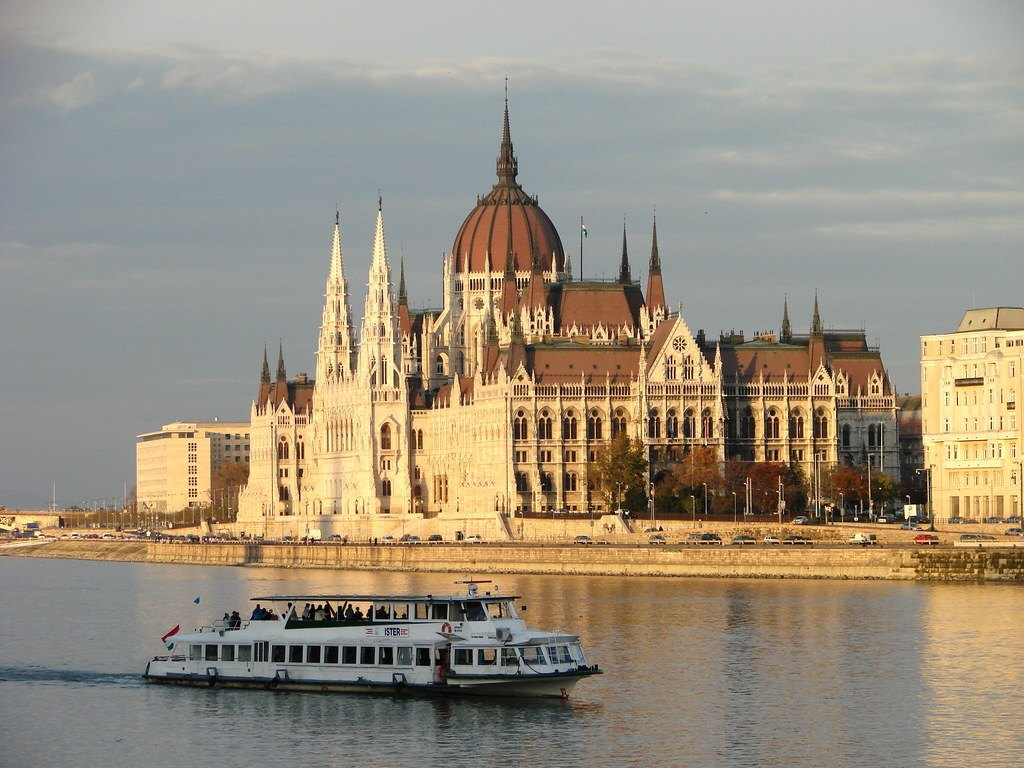 Boat Tour Down the Danube