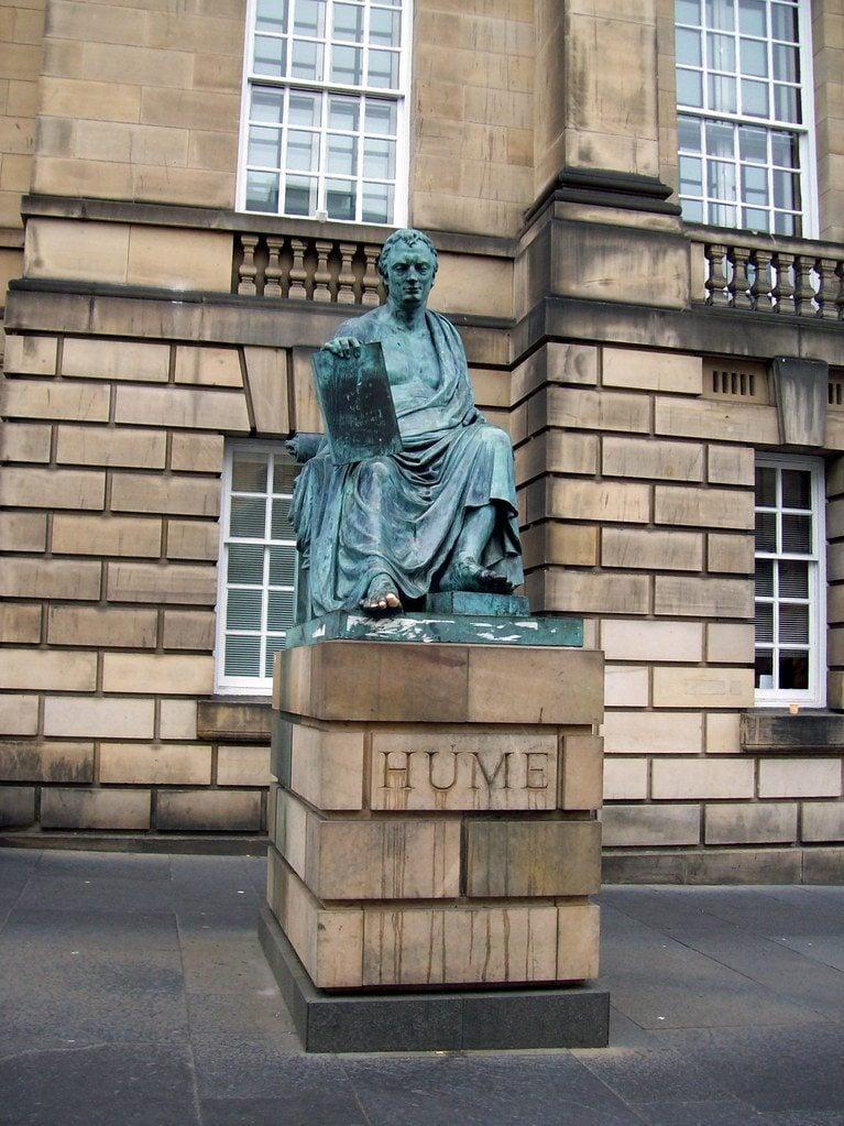 David Hume's Statue, Edinburgh
