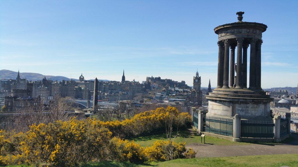 Day 1 Stop 5 Calton Hill