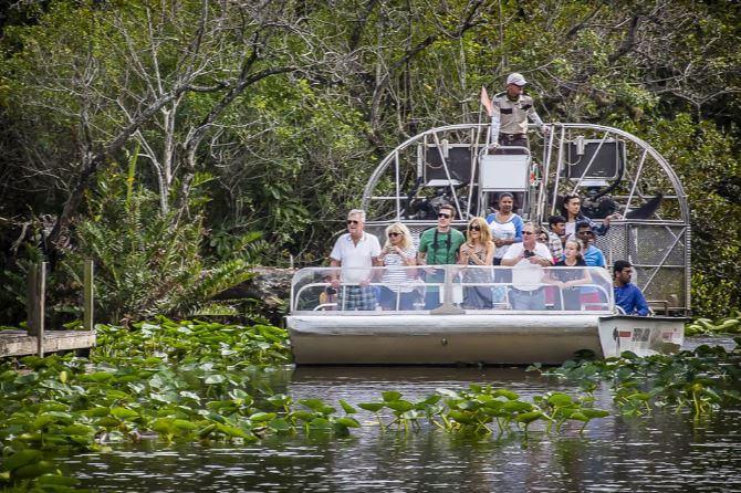 Everglades Miami City Tour and Bay Cruise