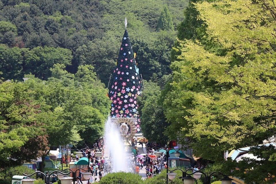 Everland Theme Park in Seoul