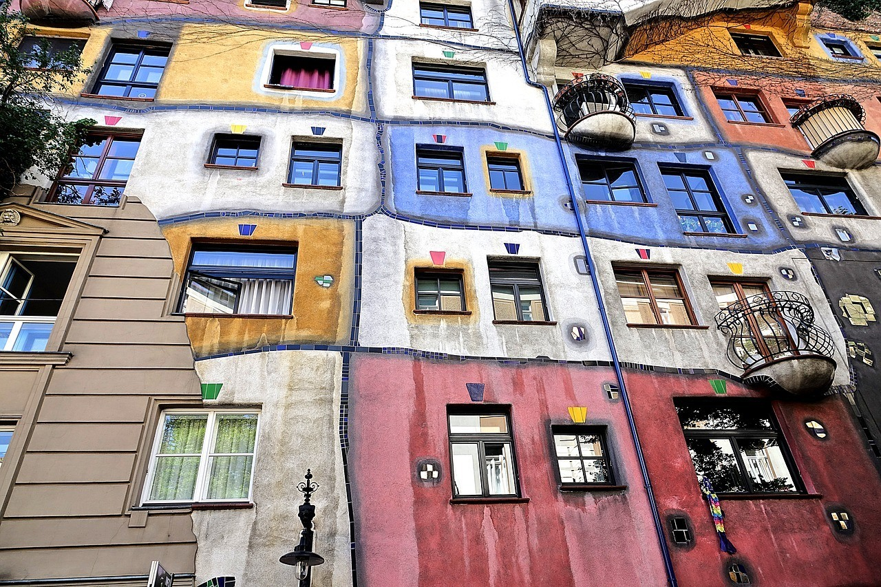 Hundertwasser Apartment House and Museum Vienna