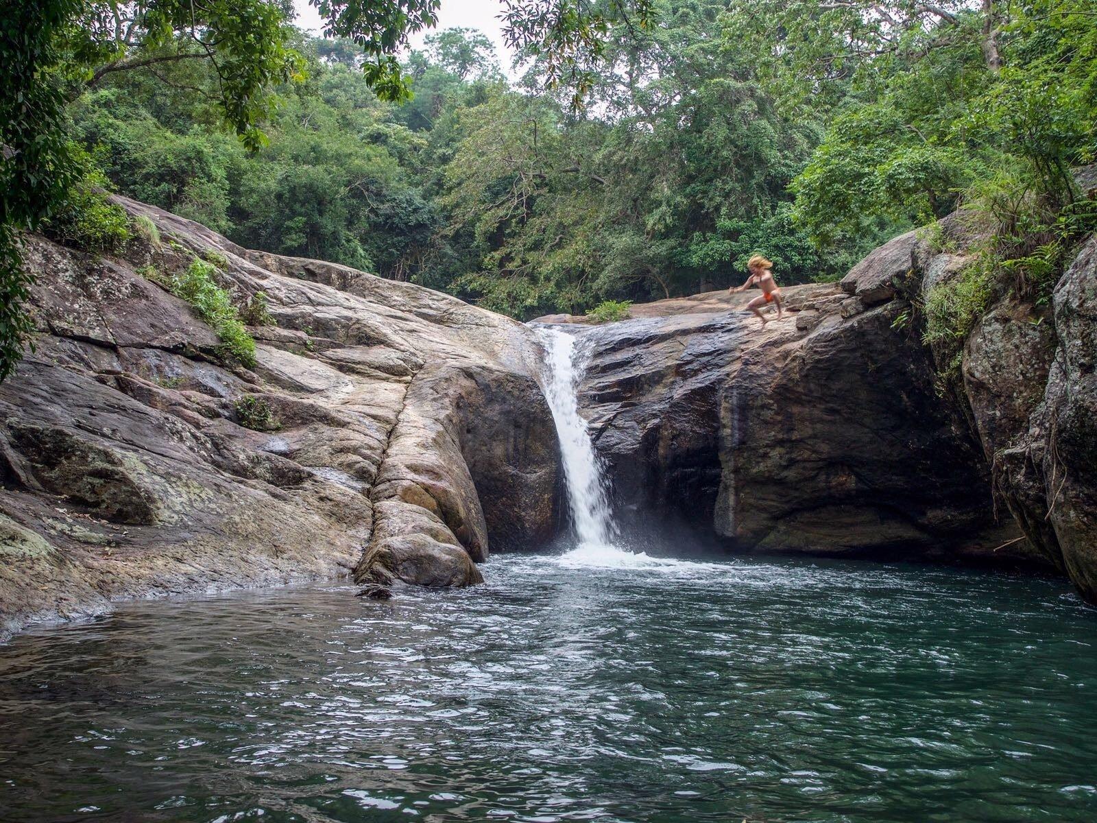 Meemure waterfalls